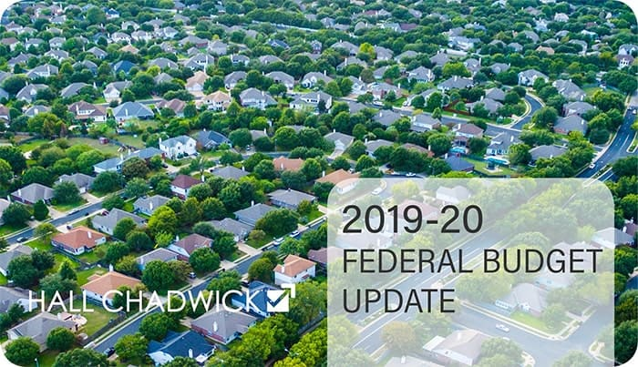 2019-20 Federal Budget Update-
