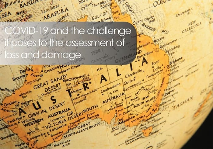 COVID-19 and the challenge it poses to the assessment of loss and damage