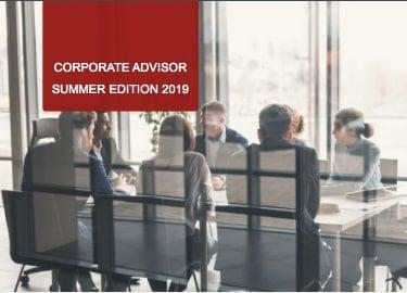 Corporate Advisor Summer Edition 2019