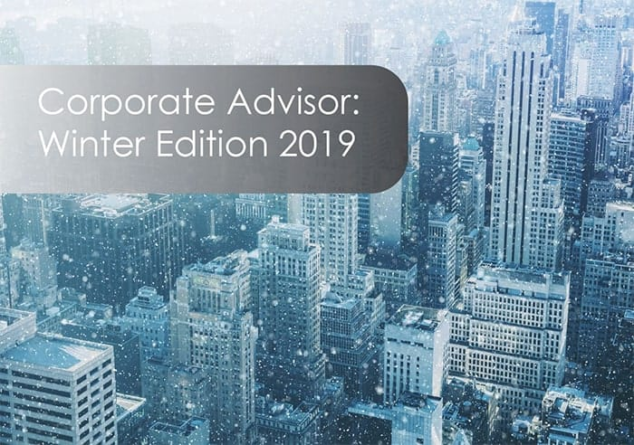 Corporate Advisor-Winter Edition 2019