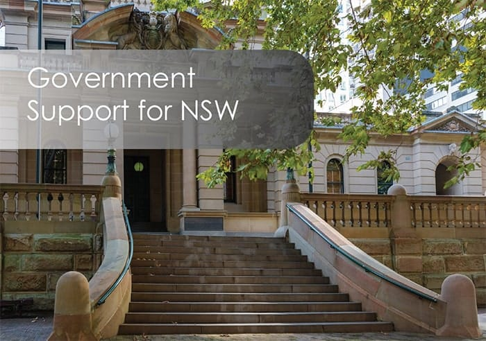 Government Support for NSW Businesses Impacted by Coronavirus