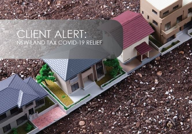 NSW Land Tax COVID-19 Relief