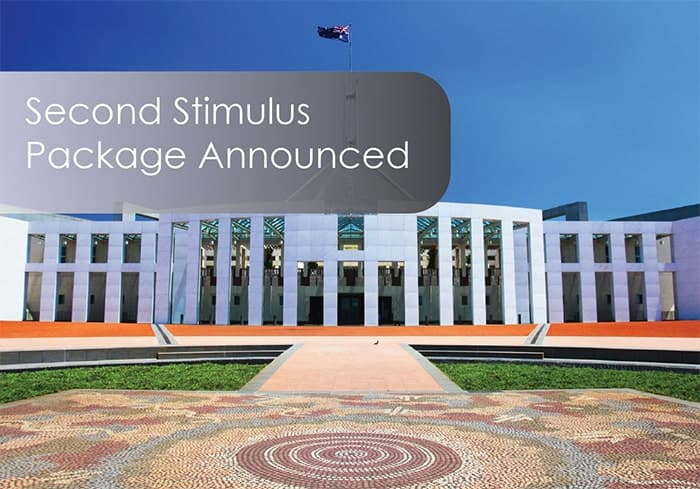 Second Stimulus Package Announced