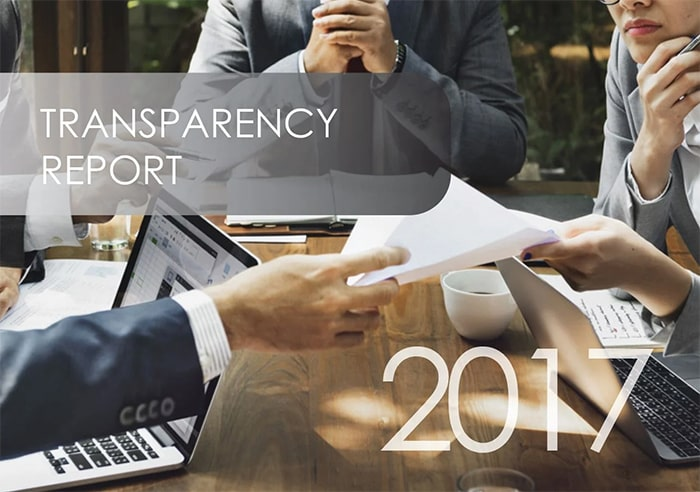 Transparency Report 2017