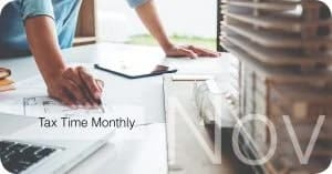 tax time monthly November 2018